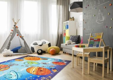 Dywan dla chłopca i dziewczynki